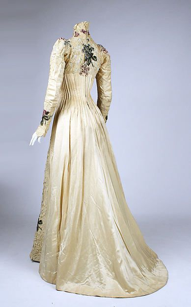 The Enchanted Garden ... | Dress, c. 1900, The Metropolitan Museum of Art....