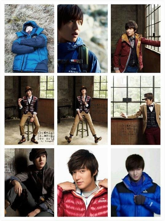 Collage LEE MIN HO: Men Style, Style Korean