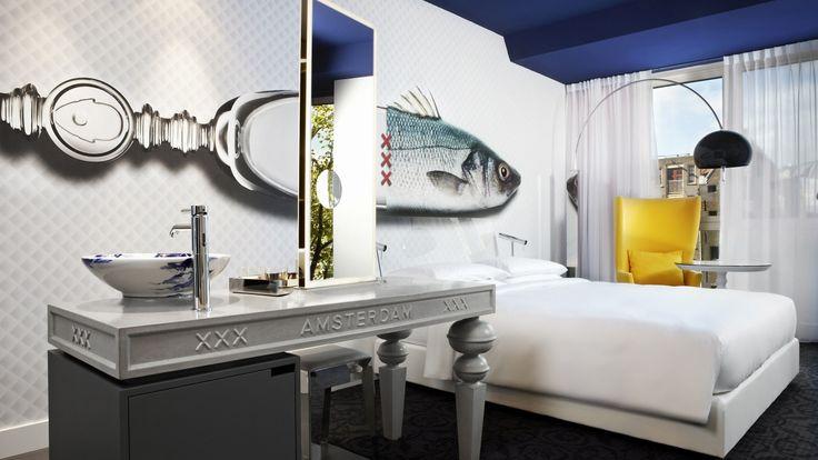 IVANKA customized indoor elements for Andaz Amsterdam.
