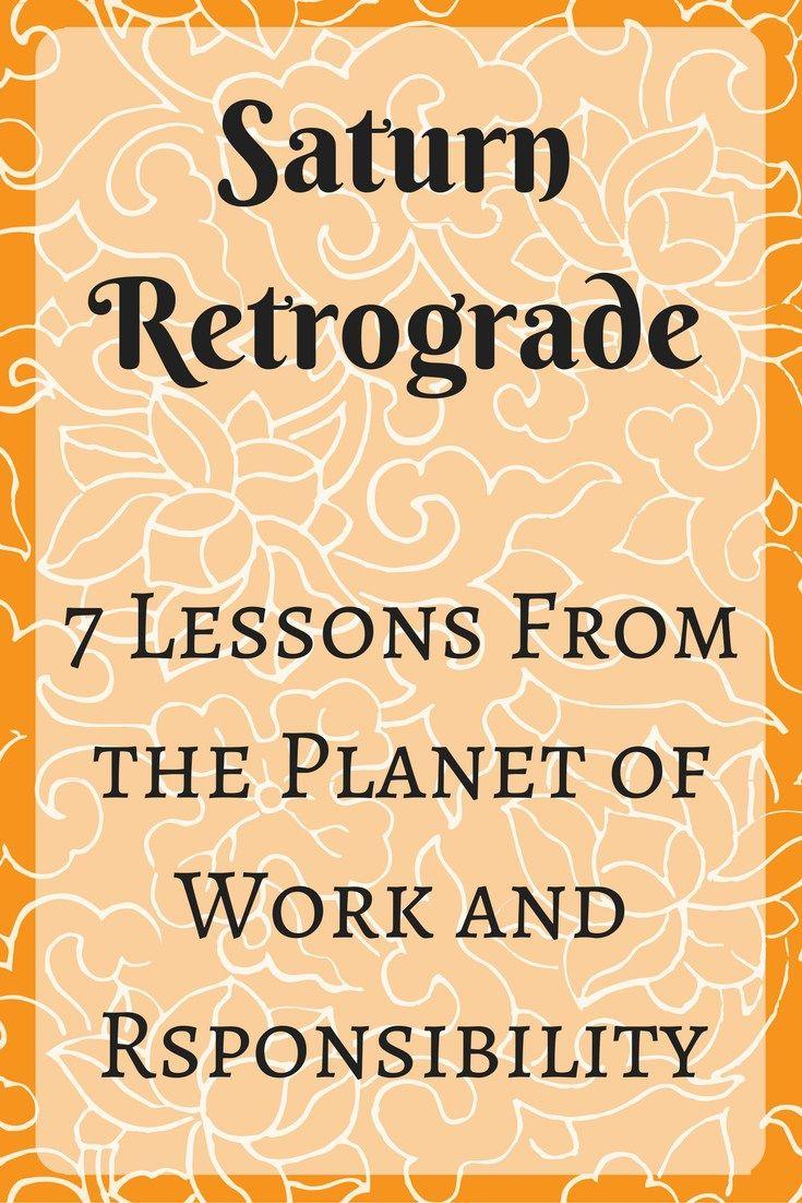 Saturn Retrograde, Harness Saturn's Power, Astrology, Saturn Astrology