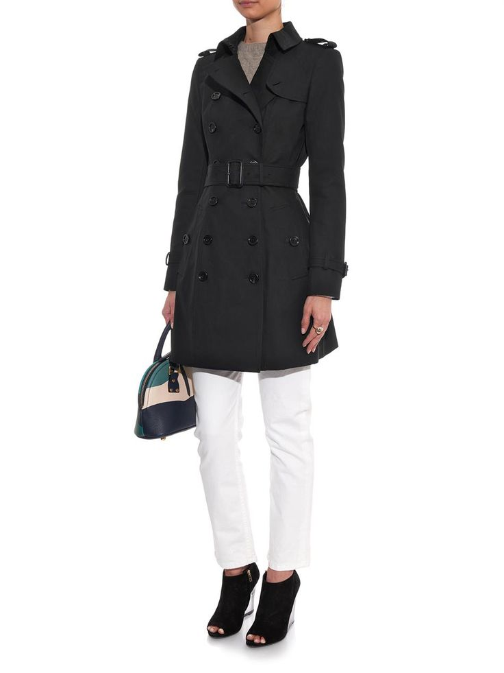 Burberry Prorsum Cotton-gabardine trench coat