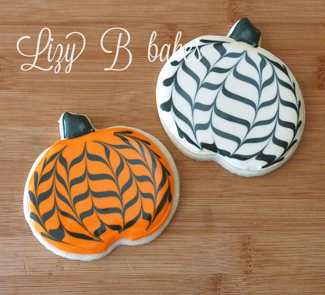 Lizy B: Tutorial! The Chevron Pumpkins are Back!