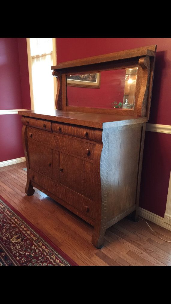 Beautiful buffet ready to grace your dining room. Gorgeous wood and charm. There are a few small areas of damage near bottom. Please see all photos. Price is OBO  The buffet is 4 feet long. It sits 38 high - with the mirror another 21. The depth of the buffet is 20  Happy to send additional photos 😊  Local pick up only  See all my latest finds on Instagram @SYSTAtreasures and Facebook