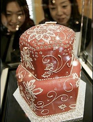 The Most Expensive Wedding Cakes in the World ~ Mostly Facts