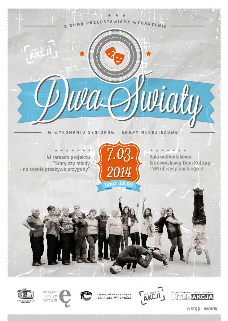 Dwa Światy (Two Worlds) Spectacle Poster