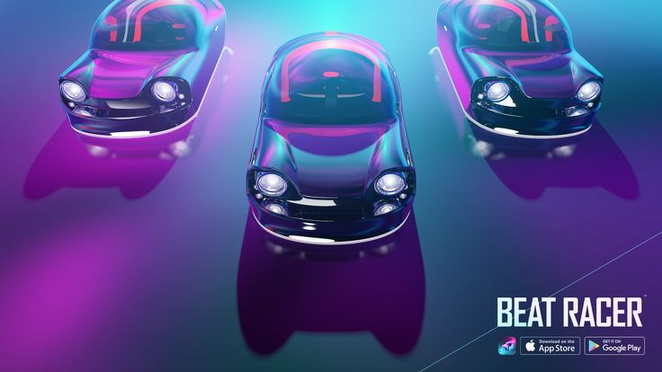 Available Now! on iOS and Android  http://www.BeatRacer.net