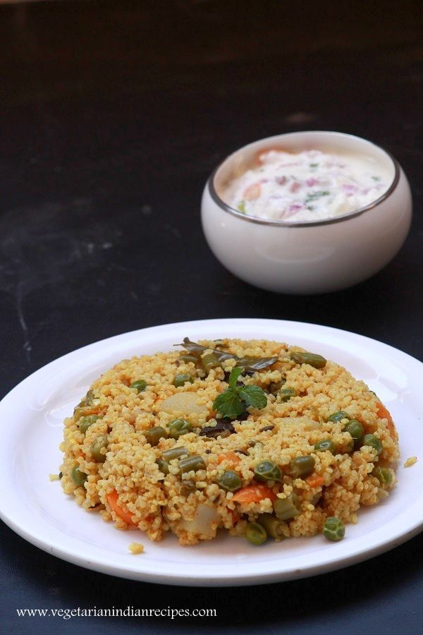samai biryani - biryani with millet - Indian millet recipe - How to cook millets - samai biryani is a tasty biryani made with little millet or chama ari. It is very healthy and easy to cook.