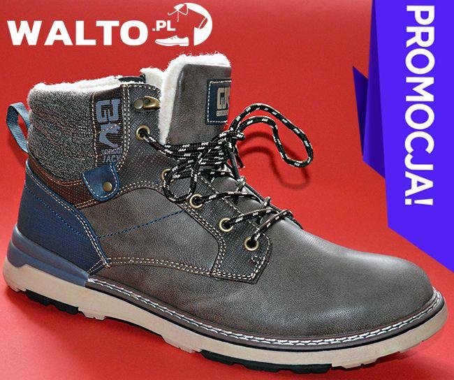 Trapery Caffe Latte Buty Meskie Zimowe Gordon Jack Timberland Boots Boots Shoes