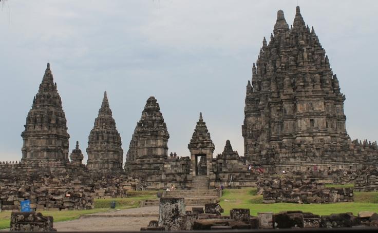 Prambanan Temples in Yogyakarta - Indonesia, the most beautiful hindu temples in the world !! Trust me!