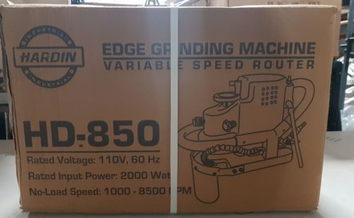 Hardin Edge Grinding Machine Variable Speed Router  HD-850