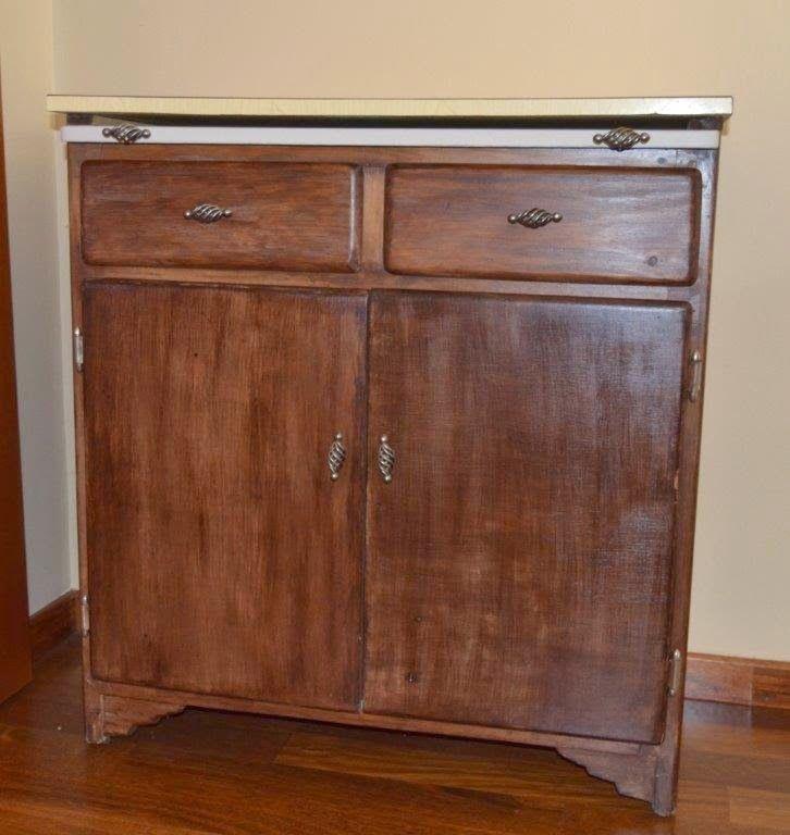 Mueble de cocina a os 60 taller de restauraci n lila - Muebles anos 60 ...