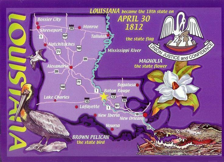 Louisiana - Vereinigte Staaten von Amerika / United States of America / USA