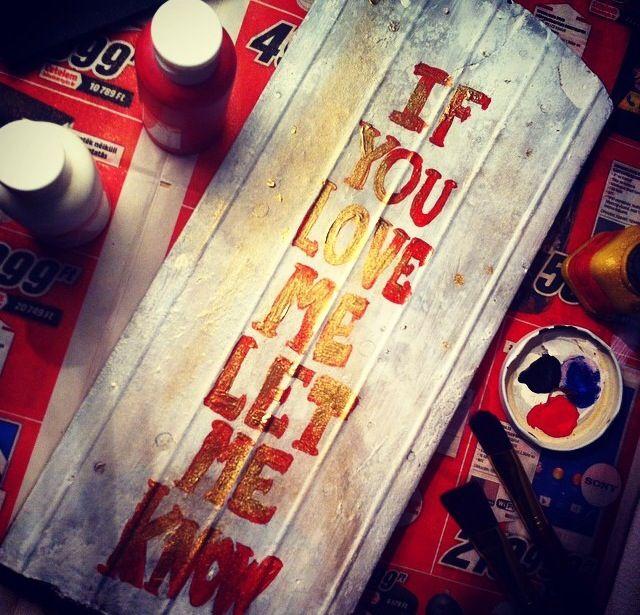 #ifyouloveme #letmeknow