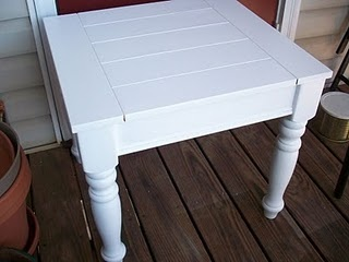 painting end tables