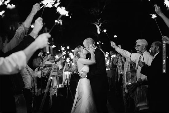 sparkler wedding exit   CHECK OUT MORE IDEAS AT WEDDINGPINS.NET   #weddings #weddinginspiration #inspirational