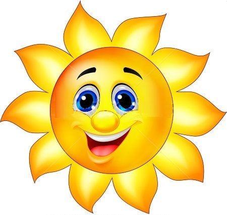 ZŠ V. Menšíka, Růžová 7, 664 91 Ivančice » slunce-kreslené
