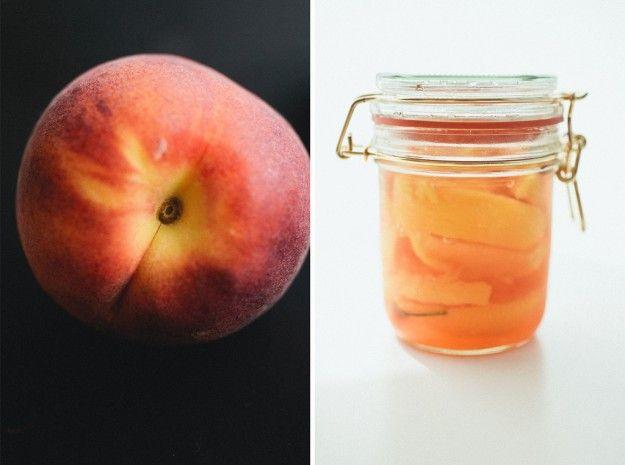 habaneros en escabeche melocotones #frutas #salud