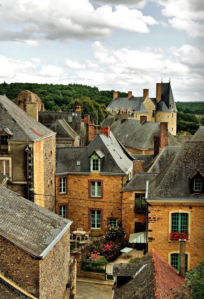 Saint-Suzanne, Pays de la Loire ~ A French medieval village