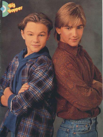 Leonardo DiCaprio & Jeremy Miller ~ Growing Pains