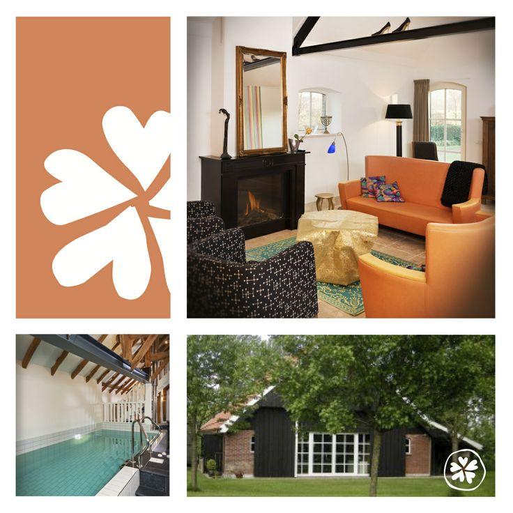 nieuw adresje de weldaed twee vakantiehuizen voor 4 8 personen met jacuzzi sauna en zelfs een. Black Bedroom Furniture Sets. Home Design Ideas