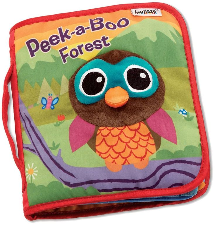 Peek A Boo Forest Book Storytelling Soft Washable Colourful Fabric Children Toys