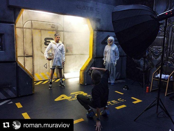 Behind the scenes by @roman.muraviov.