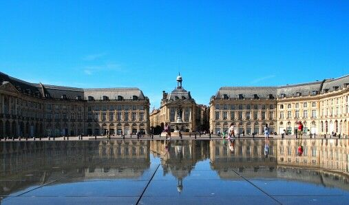@France Bordeaux Beautiful City full of history and amazing architectures