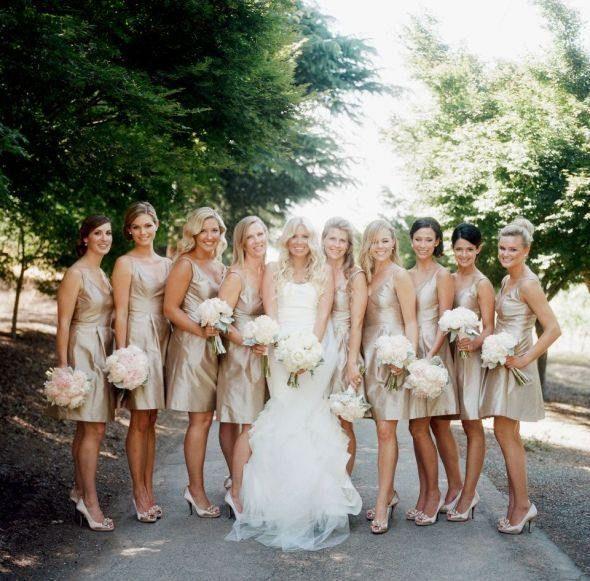 15 Most Popular Bridesmaid Dresses from J Crew - MODwedding