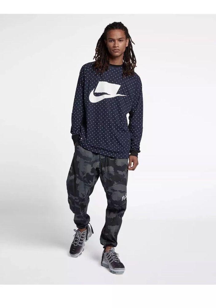 6f98da248939 Nike NSW Men s Woven Camo Joggers Sz Med Pants Jogger 930253-475 Sportswear  NWT  Nike  Joggers