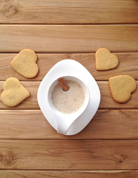 Deliciosa receta casera y paso a paso de la colada de avena con canela #oatmeal #avena #recipe #receta #homemade #ontheblog #enelblog #yummy #healthy