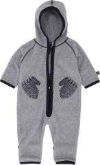 Combinaison polaire grise  bébé