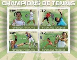 us tennis stars on stamps | Stamps > Topical Stamps > Sports > Tennis