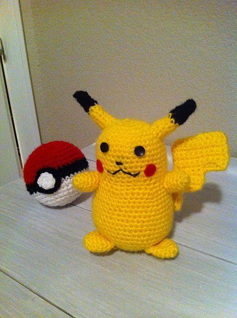 Pikachu En Amigurumi : 17 mejores imagenes sobre amigurumi en Pinterest ...