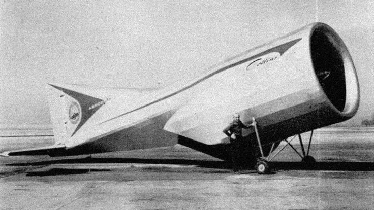 Image result for Alexander Lippisch's Aerodyne - 1968