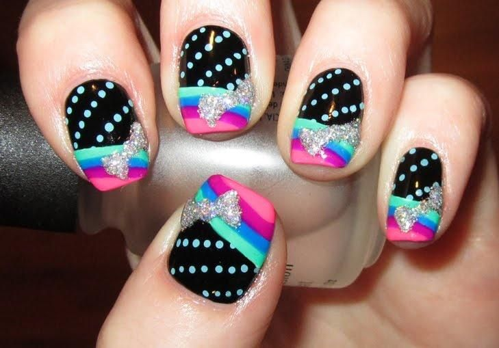 Gradients, Dots Bows