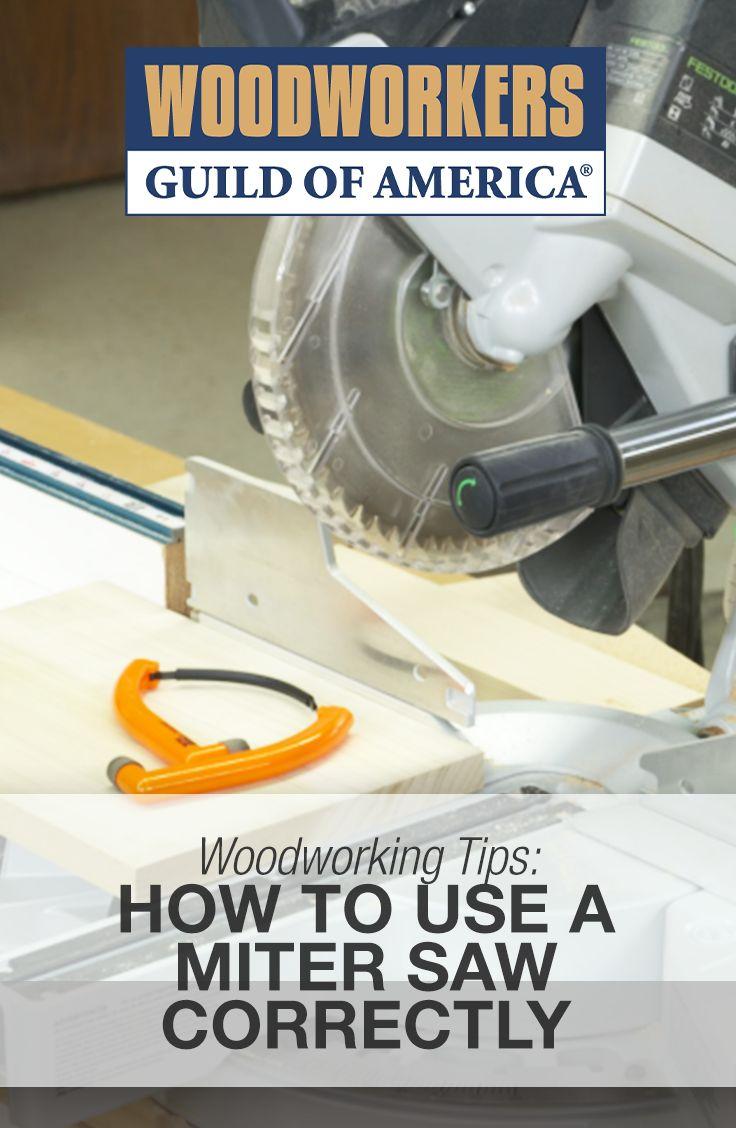 Using a Miter Saw Correctly: Beginner Tips | WWGOA