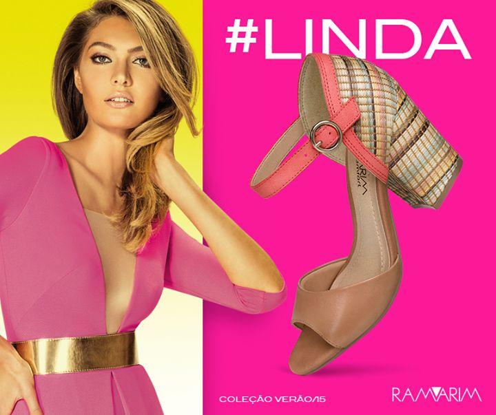 Linda,colorida e ousada a nova coleção Ramarim Verão 2015 traz modernidade e estilo para você usar onde e quando quiser. Acesse nosso site e confira a coleção completa!