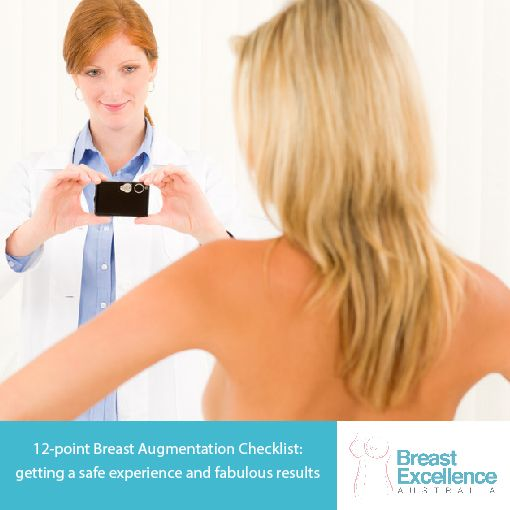 Are you thinking about getting a Breast Augmentation?  Make sure you know all the ins and outs to make it a safe experience.  Make sure you pass this on to anyone you know who is thinking about it - you could save them a world of pain. #cosmeticsurgery #plasticsurgery #breastaugmentation #breastimplants #breastenlargement https://www.breastexcellence.com.au/12-point-breast-augmentation-checklist-getting-safe-experience-fabulous-results/