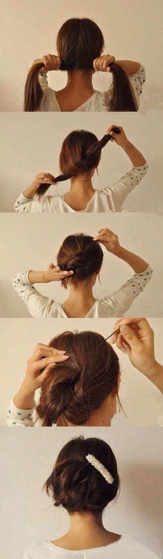 Lazy Girl Hairstyling Hacks%uD83D%uDC87%u2728%uD83D%uDC87%uD83D%uDC51 #Musely #Tip