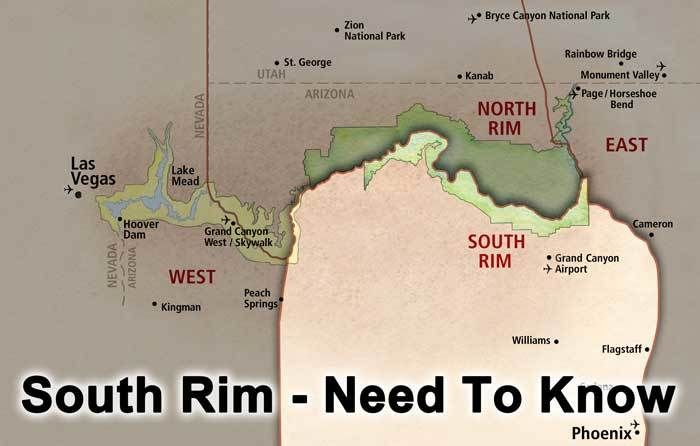 Grand Canyon South Rim - Need To Know What to do in a day