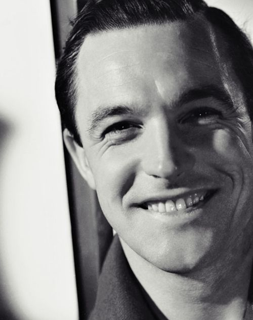 The beautiful, beautiful smile of Gene Kelly, 1940s. via We Had Faces Then