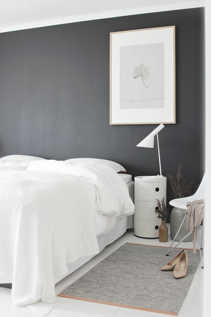 Best 25 charcoal bedroom ideas on pinterest grey room - Peinture pour chambre a coucher ...
