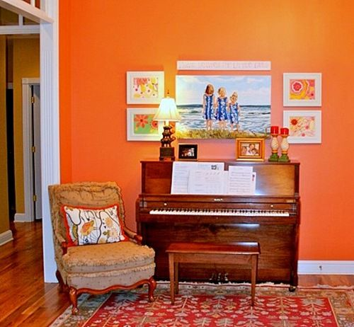 Orange Paint Colors For Living Room 15 best orange paint colors images on pinterest | color paints