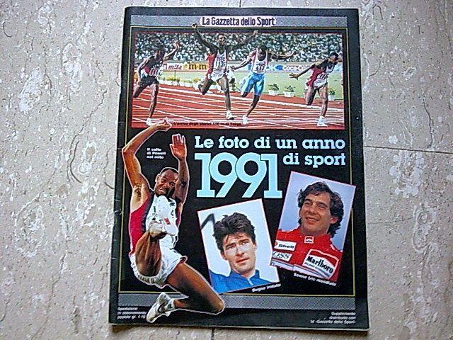 1991 LE FOTO DI UN ANNO DI SPORT- LA GAZZETTA DELLO SPORT