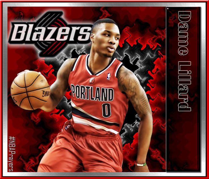 Blazers Portland Posters: NBA Player Edit - Damian Lillard