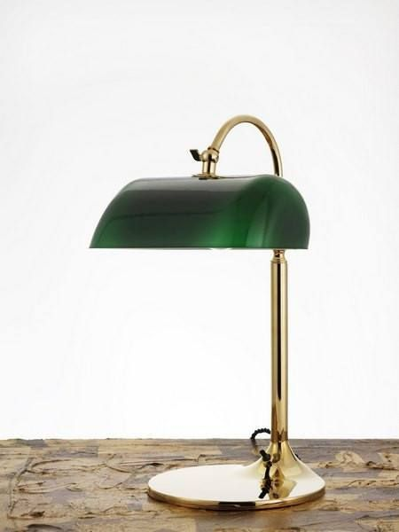 The Emeralite Lamp, or commonly referred to as the Banker Table Lamp, was first designed in 1909 but was developed through the first part of the 20th century. Many variations of the lamp exist as it i