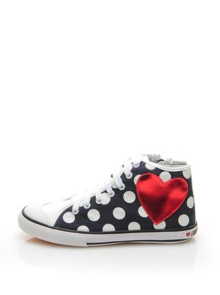 Zapatillas abotinadas marca Love Moschino baratas, outlet