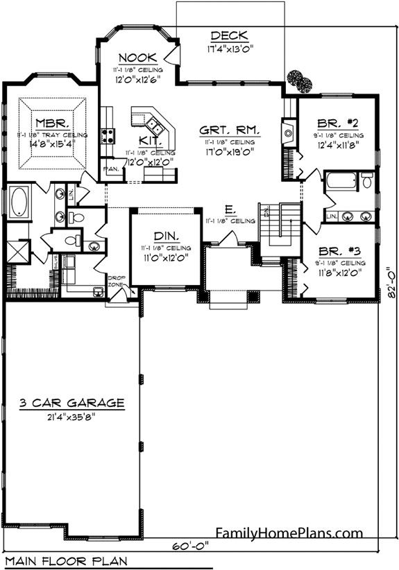 Ranch style house plans offer complete functionality on level that no other house offers. Whether a growing family or for folks who have limited mobilility, ranch homes offer both comfort and versatility. You can find amazing ranch house plans online too.