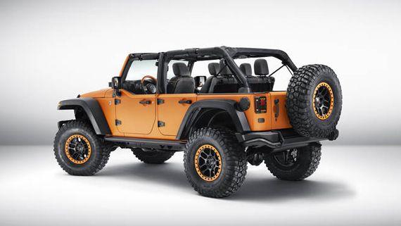 Внедорожник Jeep Wrangler Rubicon Sunriser / Джип Вранглер Рубикон Санрайзер персонализированный Mopar (Мопар)