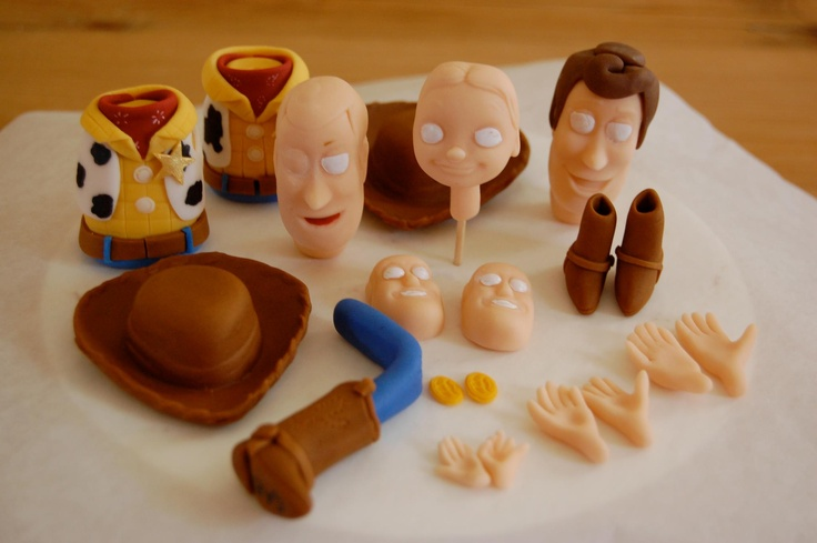 Making Edible Figurines For Cakes